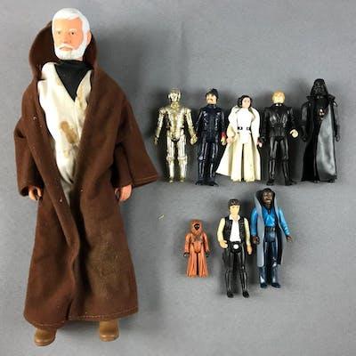 Group of Vintage Kenner Star Wars Figures