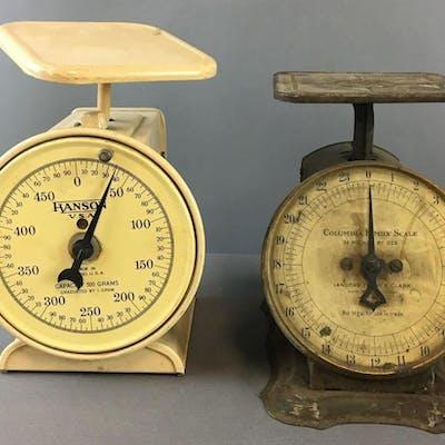 Group of 2 Vintage Scales