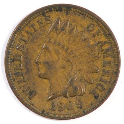 1909 Indian Head Cent.