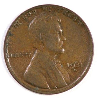 1931 D Lincoln Wheat Cent.