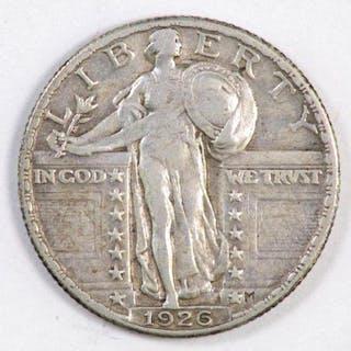 1926 P Stading Liberty Silver Quarter.