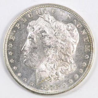1878 S Morgan Silver Dollar.