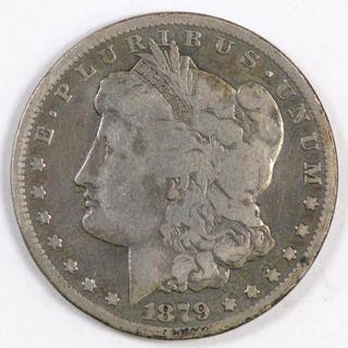 1879 CC Morgan Silver Dollar.