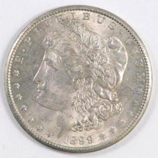 1899 O Morgan Silver Dollar.