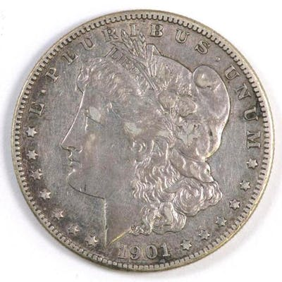 1901 O Morgan Silver Dollar.