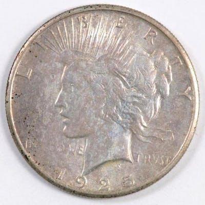 1925 S Peace Silver Dollar.
