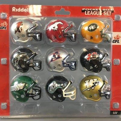 Riddell CFL Pocket Size League Set