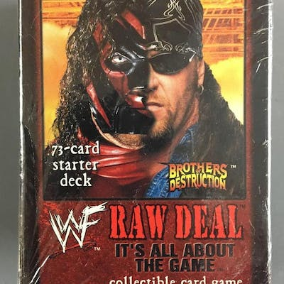 Sealed WWF Raw Deal Collectible Card Game
