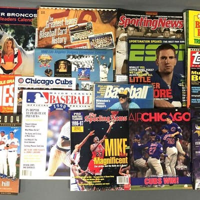 Group of Sports Magazines and more