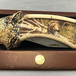 Franklin Mint Wolf knife
