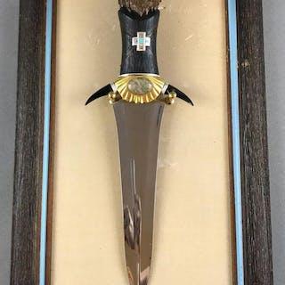 Franklin Mint The Crow Bear knife