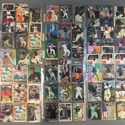 155 Frank Thomas Cards