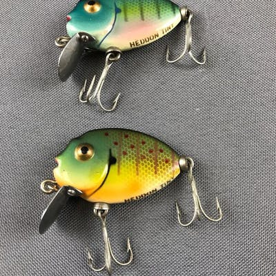 Group of 2 vintage lures