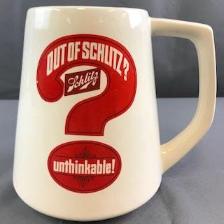 Large Schlitz Beer mug