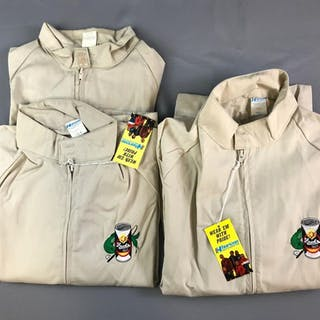 Group of 3 Strohs beer jackets