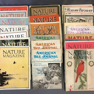 Group of Nature Magazines and more