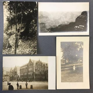 Group of Antique Real Photo Postcards
