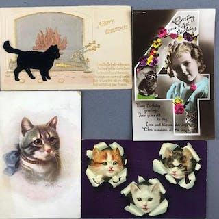 Postcards-Cats/Kittens