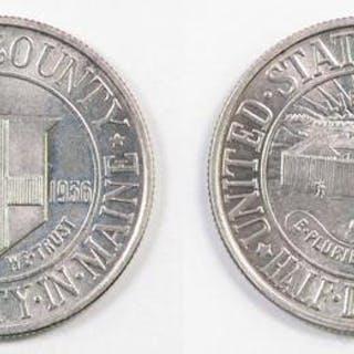 1936 York County Coomemorative Silver Half Dollar.