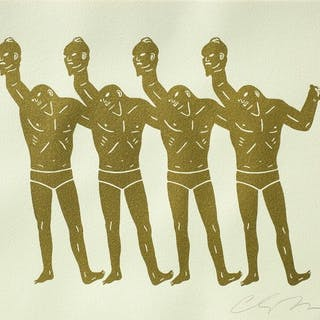 PAINT THE TOWN (WHITE) - CLEON PETERSON