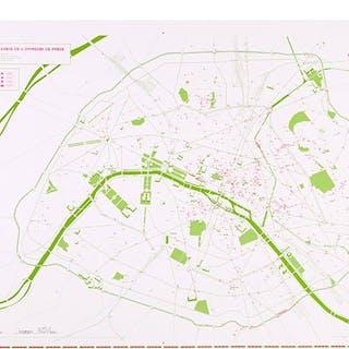 INVASION MAP OF PARIS 2.0 - INVADER