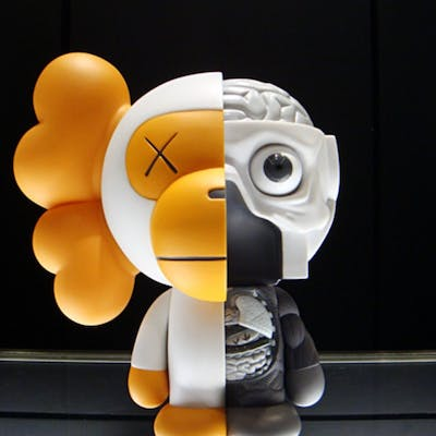 DISSECTED MILO (GRAY) - KAWS