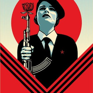PEACE GUARD 2 - OBEY (SHEPARD FAIREY)