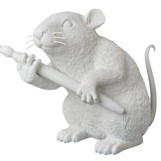LOVE RAT (WHITE) - BANKSY
