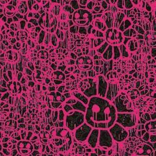 MADSAKI FLOWERS B PINK - TAKASHI MURAKAMI