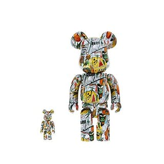 BASQUIAT 400% + 100% 2018 - BE@RBRICK