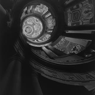 STAIRCASE AT VILLA FARNESE - HIROSHI SUGIMOTO