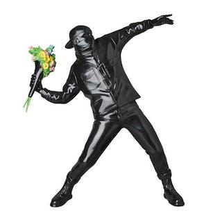 FLOWER BOMBER BLACK - BANKSY