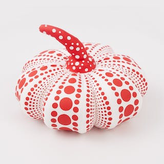 PUMPKIN PLUSH RED (SMALL) - KUSAMA