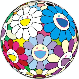 FESTIVAL FLOWER DECORATION - TAKASHI MURAKAMI