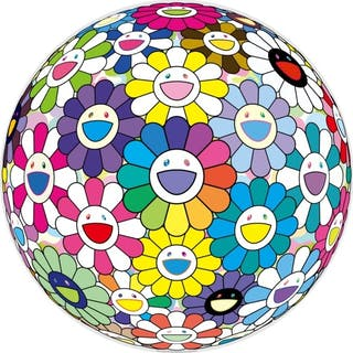 PRAYER AT THE FESTIVAL - TAKASHI MURAKAMI
