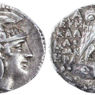 "Attica, Athens AR Tetradrachm, ""New Style"", 108/107 B.C.E."
