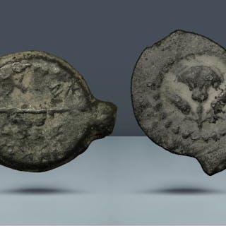 JUDAEA. Hasmonaean Dynasty. John Hyrcanus I. 167-34 BCE. From the