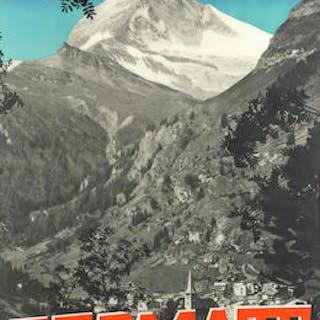 EMANUEL GYGER (PHOTO, 1886-1951) ZERMATT