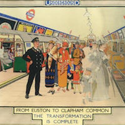 Richard T. COOPER, (1884-1957) FROM EUSTON TO CLAPHAM COMMON, London