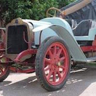 1912 Mors 2½-Litre Décapotable Project  Chassis no. 12124