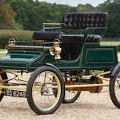 1903 Stanley 6½hp Model A Steam Runabout  Chassis no. 520