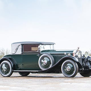 The 1926 Olympia Motor Show,1926 Hispano-Suiza H6B Coupé  Chassis no. 11608