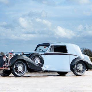 The ex-Paris Motor Show,1938 Bentley 4¼-Litre Coupé  Chassis no. B8MR