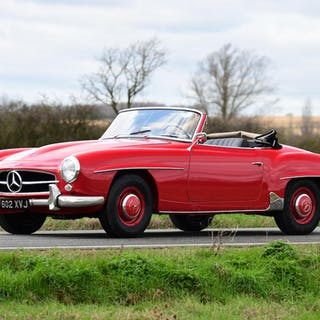 1957 Mercedes-Benz 190 SL Roadster  Chassis no. 121040-7500658