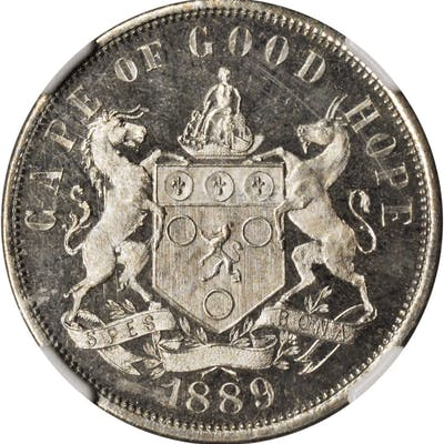 SOUTH AFRICA. Cape of Good Hope. Copper-Nickel Penny Pattern, 1889-V.