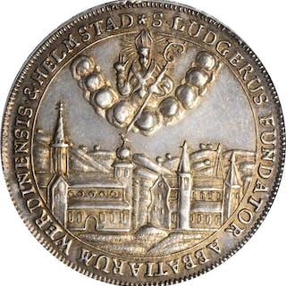 GERMANY. Werden & Helmstaedt. Taler, 1765. Anselm von Sonius. PCGS