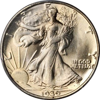 1939-S Walking Liberty Half Dollar. MS-64 (PCGS). CAC.