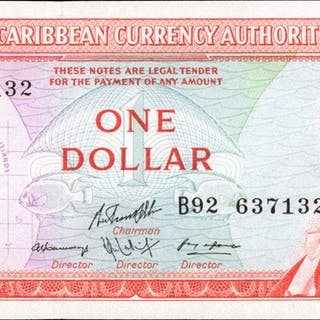 EAST CARIBBEAN STATES. East Caribbean Currency Authority. 1 to 20