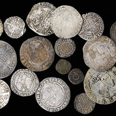 GREAT BRITAIN. Hammered Issues (19 Pieces), 685-1656. Average Grade: GOOD.