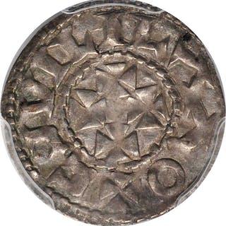 FRANCE. Aquitaine. Denier, ND (1127-37). Bordeaux Mint. William X.